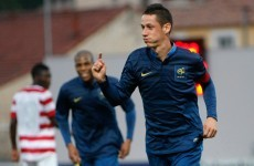 French U21 goes full Zlatan with this backheel volley