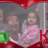 Awww! David Beckham's adorable KissCam moment with daughter Harper