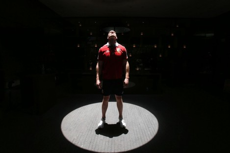Paul O'Connell after being named as Lions captain for their first match against the Barbarians.