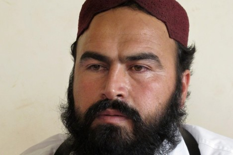 File photo of Taliban number two commander Waliur Rehman.