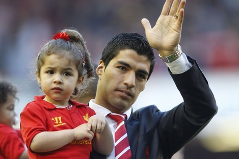 Wave goodbye? Luis Suarez.