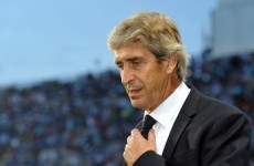 Pellegrini: I have a verbal contract with Man City