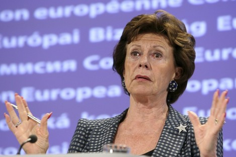 EU Commissioner Neelie Kroes.
