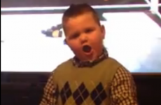 Toddler Brant does The Wobble... amazingly