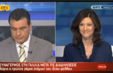 News programme accidentally shows porn in background
