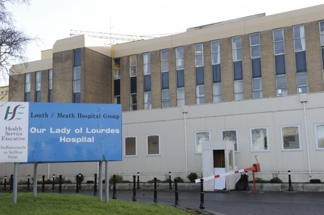 Our Lady of Lourdes Hospital in Drogheda, where the two women remain in critical condition.