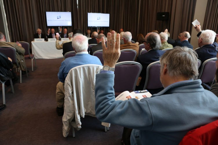 Shareholders at the Irish Continental Group AGM this week