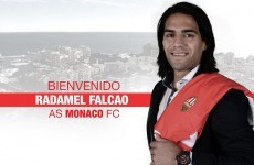 Money talks: Radamel Falcao's move to Monaco is official