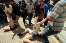 European protestors could face jail for going topless in Tunisia