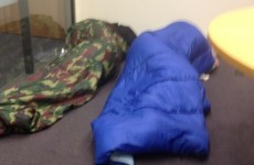 Women continue sleep-in protest at Bray Town Council over homelessness