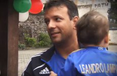 Here's the Brazilian Chelsea fan that named his son after Frank Lampard