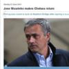Premier League website prematurely announces Jose Mourinho as new Chelsea boss