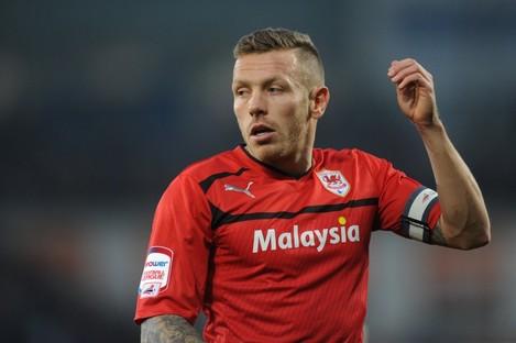 Bellamy helped Cardiff win promotion this season.