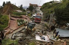 Landslide destroys hundreds of homes in Bolivian capital