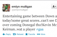 9 tweets from GAA stars reviewing the weekend's action