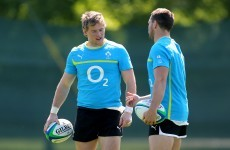 Marmion ready for Ireland start but no underage drinks for Henshaw