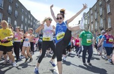 Slideshow: Record-breakers, proud Mums and stiff bodies after marathon efforts