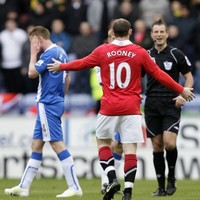 Wayne Rooney escapes punishment for elbow on Ireland's James McCarthy