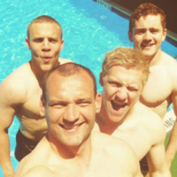 Hoops, guns, dodgy plugs and pool boys: It's the Irish rugby team on tour