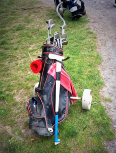 Joe Canning's brother used a Happy Gilmore hurley at a golf classic today