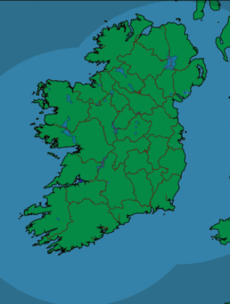 There will be 'unbroken sunshine' in many areas of Ireland today