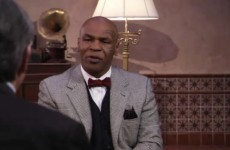 For your consideration.... Iron Mike makes Academy Awards pitch