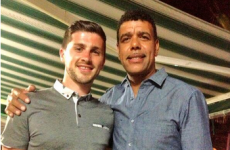 Shane Long created quite a stir when he showed up in Tenerife last night