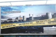 Irish Examiner billboard vandalised in Limerick won't be replaced