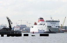 Irish ferry numbers up for the first time in two years