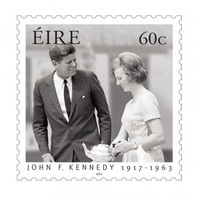 Here's what the JFK 50 stamps look like...