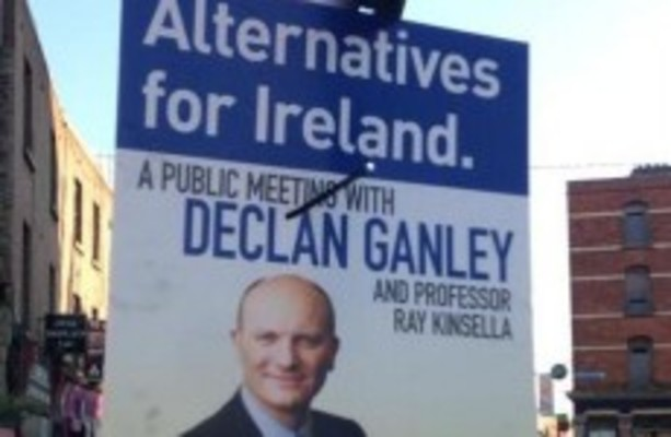 Ganley: No political party represents the moderate, pro ...