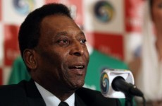 Everyone relax... Pele says Brazil will win the World Cup next summer