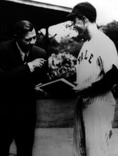 Your 'Babe Ruth Meeting George HW Bush' Pic of the Day