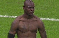 Move over Tiger and Sergio... Usain Bolt and Mario Balotelli are feudin' now