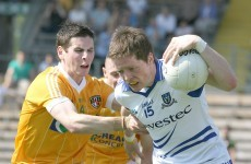 Dessie Mone returns for Monaghan but Tommy Freeman misses out