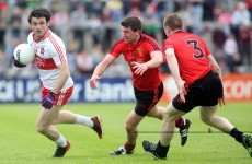 Eoin Bradley hopeful of recovering from Derry after shoulder injury