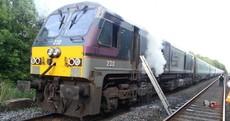 Fire on board Belfast to Dublin train causes huge delays