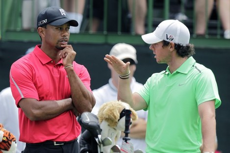 Woods and McIlroy.