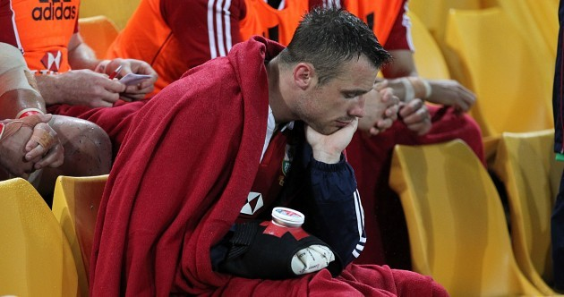 Broken bone brings premature end to Tommy Bowe's Lions Tour