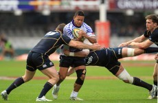 Connacht-bound So'oialo helps Samoa to 1st ever win over Scots