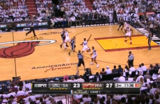 Manu Ginobili's insane through-the-legs pass has to be seen to be believed