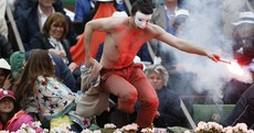 Same-sex marriage protest marrs Nadal's 8th French Open win