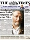A British newspaper claims Ireland got a £10bn 'back-door bailout' from the UK