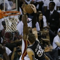 Start your week by watching this incredible block from LeBron James last night