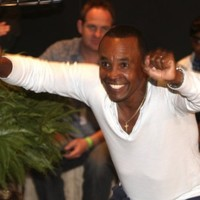 Sugar Ray ready to test his footwork on the dancefloor