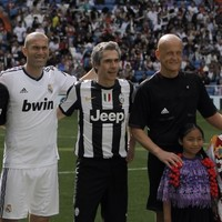 A magical touch by Zinedine Zidane, aged 40, last night