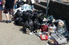 Beach-goers asked to bring home their rubbish - not dump it