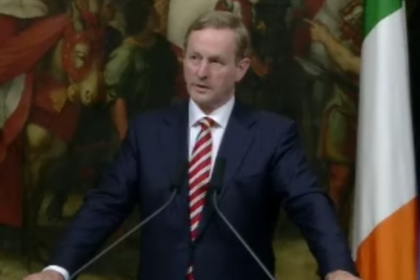 "Enda Kenny, speaking in Rome, borrowed a local proverb in claiming: ""Caesar's wife has to be above reproach."""