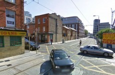 Car and Luas collide at busy Dublin junction