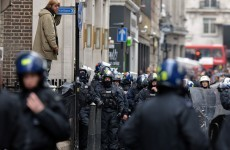 100 riot police in crackdown on London G8 protests